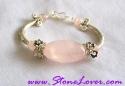 Rose Quartz Bracelet / สร้อยข้อมือโรส ควอตซ์ [23183]