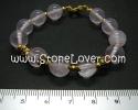 Rose Quartz Bracelet / สร้อยข้อมือโรส ควอตซ์ [13121349]