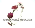 Ruby Bracelet / สร้อยข้อมือทับทิม [13061035]