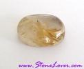 Rutile Quartz for Ring / หัวแหวนไหมทอง [53385]