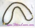 Smoky Quartz Necklace / สร้อยคอสโมกกีย์ ควอตซ์ [13709]