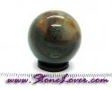 Sphere/Ball Blood Stone / หินทรงกลมบลัด สโตน [08095733]