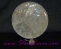 Sphere/Ball Clear Quartz / หินทรงกลมควอตซ์ใส [09026584]