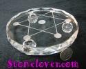 Sphere/Ball Stand / ฐานอะคริลิครองหินกลม [12119771]