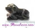 Tiger's Eye Cut Shape / หินแกะสลักพลอยตาเสือ-สุนัข [08011599]