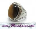 Tiger's Eye Ring / แหวนพลอยตาเสือ [09056815]