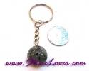 Tourmalinated Quartz Key Chain / พวงกุญแจแก้วขนเหล็ก [07121255]