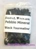 Tourmaline Pebble Minertal / หินก้อนกรวดทัวร์มาลีน [74275]