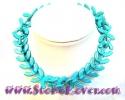 Turquoise Necklace / สร้อยคอเทอร์ควอยส์ [10078502]