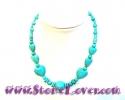 Turquoise Necklace / สร้อยคอเทอร์ควอยส์ [10078505]