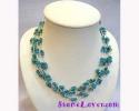 Turquoise Necklace / สร้อยคอเทอร์ควอยส์ [14102]
