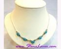 Turquoise Necklace / สร้อยคอเทอร์ควอยส์ [14118]