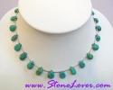 Turquoise Necklace / สร้อยคอเทอร์ควอยส์ [14119]