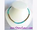 Turquoise Necklace / สร้อยคอเทอร์ควอยส์ [14124]