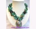 Turquoise Necklace / สร้อยคอเทอร์ควอยส์ [14126]