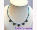 Turquoise Necklace / สร้อยคอเทอร์ควอยส์ [14128]