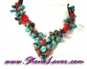 Turquoise Necklace / สร้อยคอเทอร์ควอยส์ [08033739]