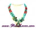 Turquoise Necklace / สร้อยคอเทอร์ควอยส์ [08054322]
