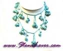 Turquoise Necklace / สร้อยคอเทอร์ควอยส์ [08064986]