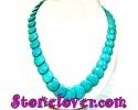 Turquoise Necklace / สร้อยคอเทอร์ควอยส์ [12119899]