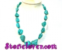 Turquoise Necklace / สร้อยคอเทอร์ควอยส์ [12119901]