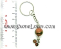 Unakite Key Chain / พวงกุญแจ ยูนาไคต์ [13121428]